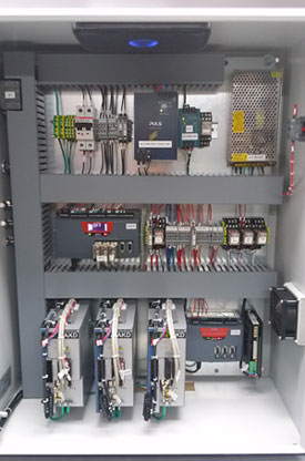 Axis EtherCAT Pump Control Panel