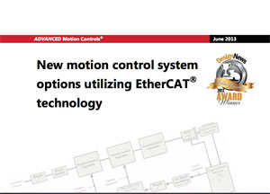 EtherCAT Performance Advantage article