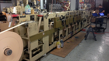 Print Machine Retrofit