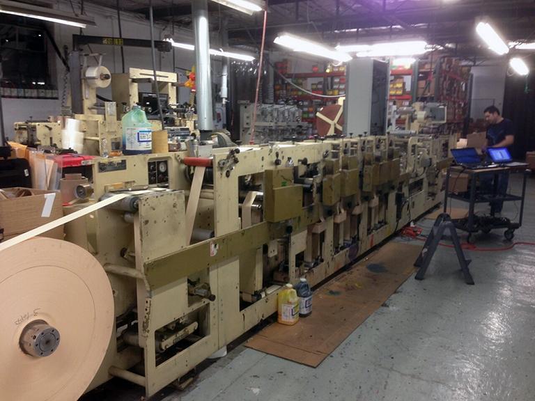 Print Machine Retrofit