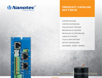 cover image for Nanotec product catalog